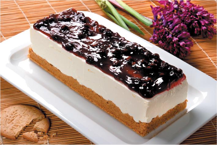 Krémsajttorta Digestive keksszel