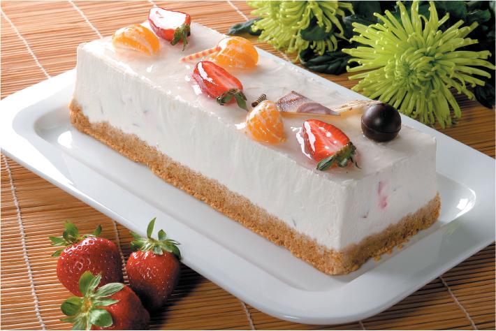 Charlotte Digestive keksszel joghurttal és gyümölccsel