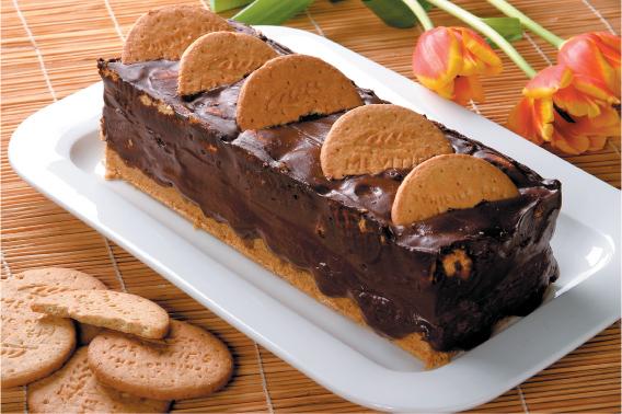 Duchess desszert Digestive keksszel