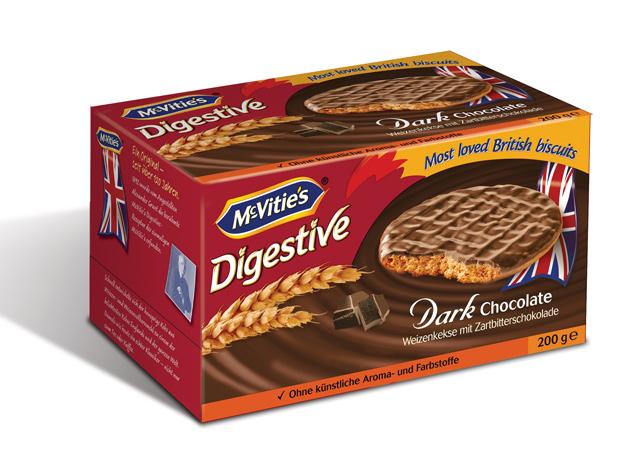 McVitie's Digestive étcsokoládés keksz