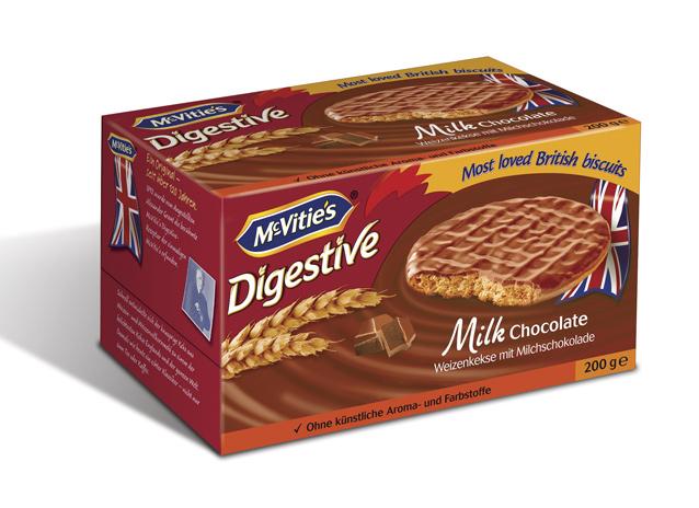McVitie's Digestive tejcsokoládés keksz