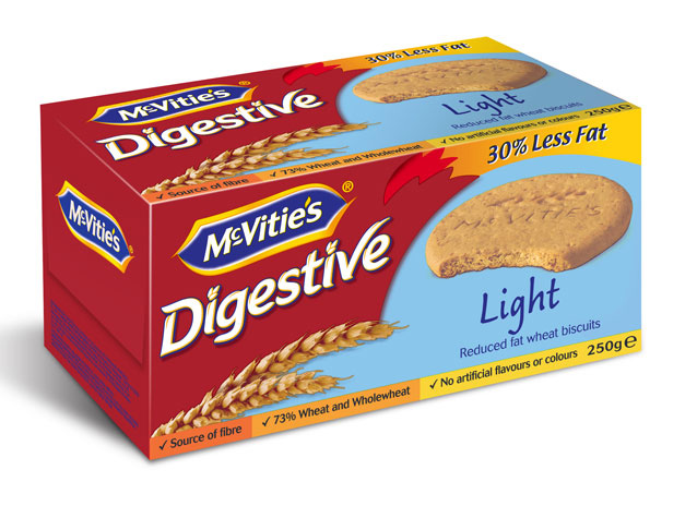 McVitie's Digestive Light